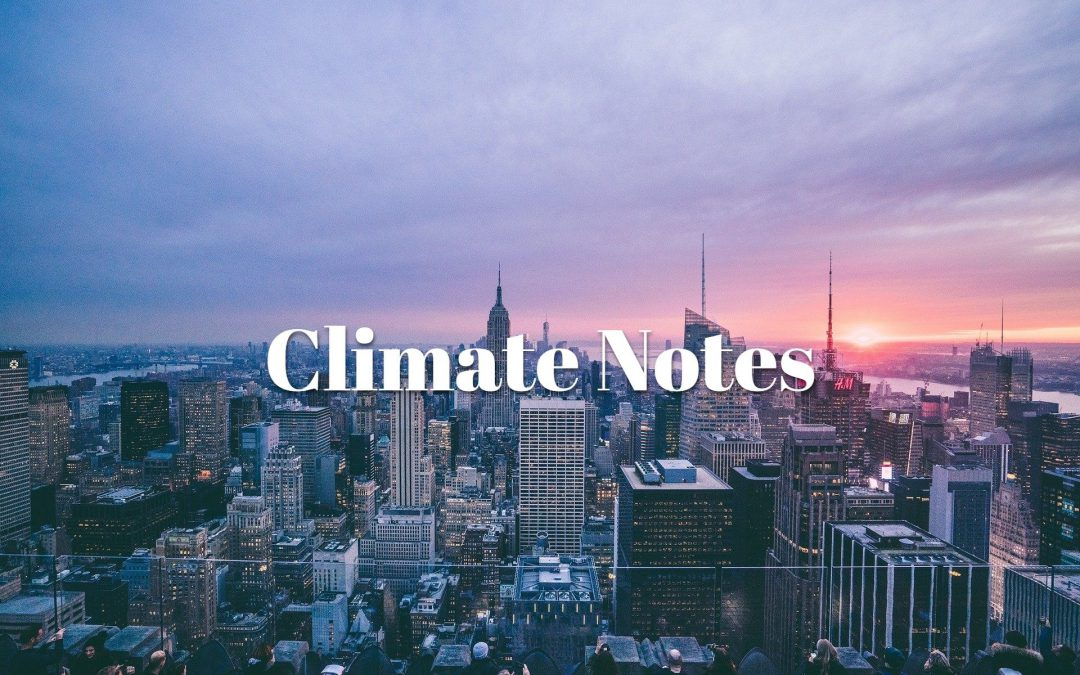 climate notes - nyc