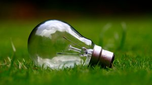 climate notes light bulb
