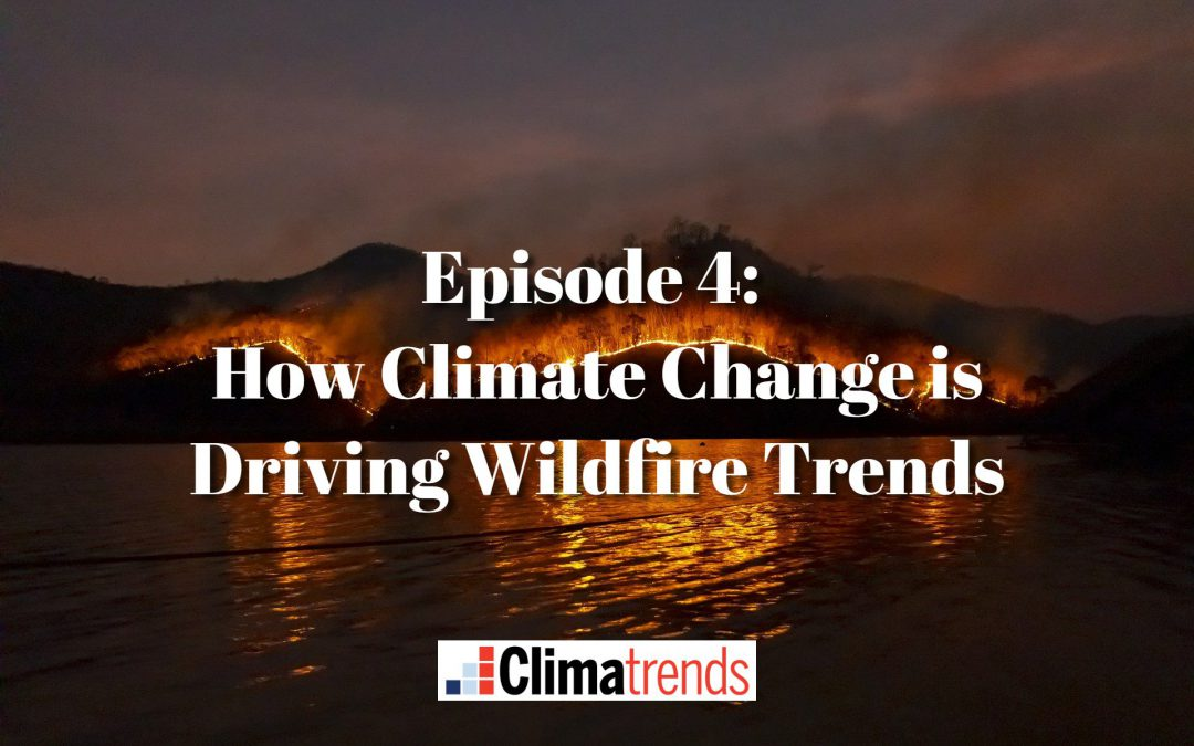 Episode 4: How Climate Change is Driving Wildfire Trends
