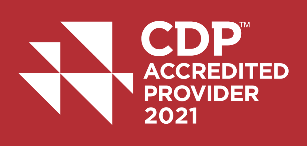 CDP 2021 red logo