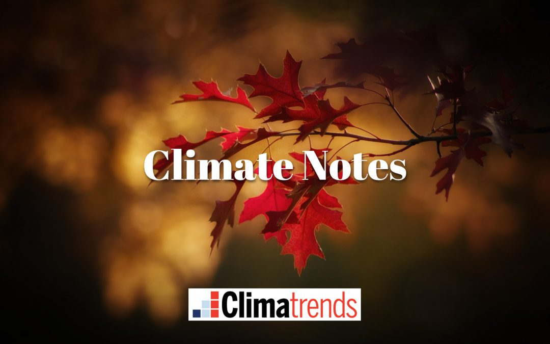 Fall Warming Trends – Christian Leaders Call for Climate Action